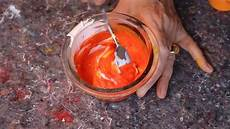 mischen farben mit sand und leichter strukturpaste