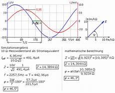 komplexe widerstandsberechnung r c l kombinationen