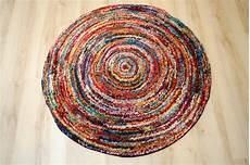 teppich rund bunt teppich multicolor designer six05 round modern 160x160cm