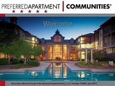Top Floor Insurance Earns The Distinction As A Preferred by Preferred Apartment Communities Said Apartment