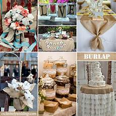 by exclusively weddings burlap wedding ideas