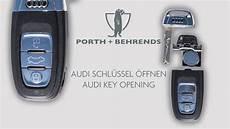 Audi A4 Schlüssel Anlernen - neuen audi schl 220 ssel 214 ffnen new audi key opening