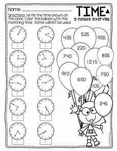 time worksheets differentiated 2965 telling time to the 5 minutes differentiated time worksheets telling time clock worksheets
