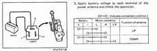 97 toyota power antenna wiring diagram power antenna troubleshooting 101 pics rx7club mazda rx7 forum