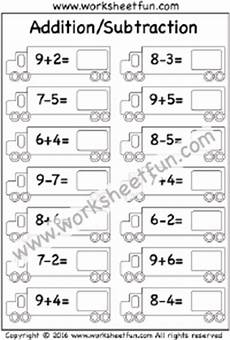free printable mixed addition and subtraction worksheets for kindergarten 10517 addition to 20 free printable worksheets worksheetfun