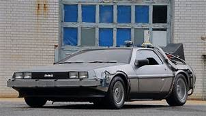 Now's Your Chance To Buy The 'Back Future' DeLorean