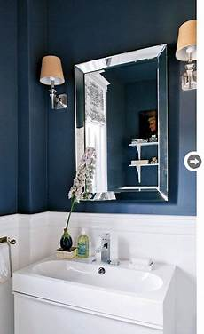 Bathroom Ideas Navy by Navy And White Powder Room Powder Rooms Navy Blue