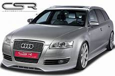 audi a6 4f frontspoiler sf line bodykits styling
