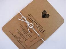 kraft brown paper wedding invitation custom made by mintconfetti 2 00 kraft paper wedding