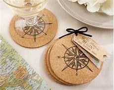 sotto bicchieri let the journey begin cork coaster my wedding favors