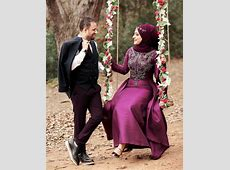 Which color of dress do Muslim women wear on their wedding