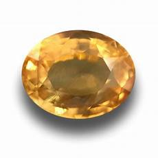 2 24 cts natural yellow sapphire gemstone new