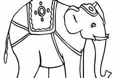 awesome circus elephant coloring pages best place to color