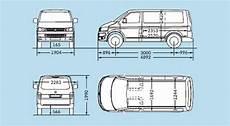 Fahrzeugabmessungen Vw T5 Kurzer Radstand Vw Ausbau