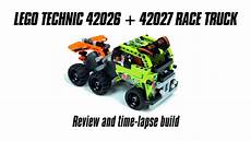 Lego Technic Build by Lego Technic 42026 42027 Race Truck Build Review