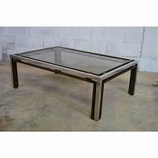 table italienne en verre table basse italienne en verre fum 233 et laiton romeo rega