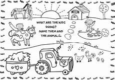 simple farm animals coloring pages 17459 free printable farm animal coloring pages for