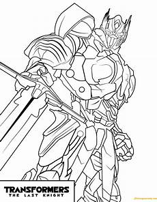 transformers optimus prime the last coloring page