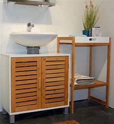 bad unterschrank holz osoltus bad waschbecken unterschrank kopenhagen aus bambus