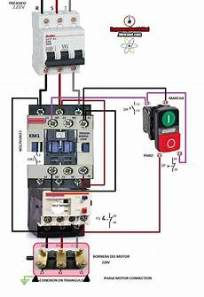 electrical diagrams phase motor connection electryc and instrumen control pinterest