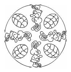 Osterhase Ausmalbilder Mandala Osterhasen Mandala Ostern Osterhase Und Osterbasteln