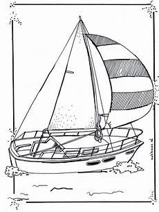 malvorlagen segelboot coloring and malvorlagan
