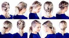 10 cute easy low ponytail hairstyles milabu youtube