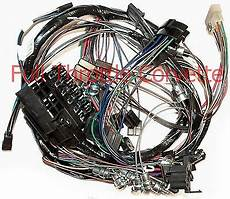 80 corvette dash wiring diagram 1964 64 corvette dash wiring harness without back up lights new ebay