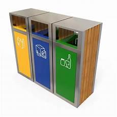 tri selectif poubelle kuokio poubelle pour ext 233 rieur tri s 233 lectif 3 bacs tri