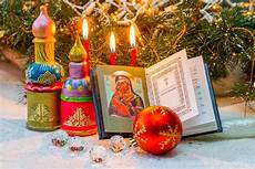 winter holidays russian orthodox