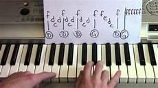 uptown funk piano lesson bruno mars mark ronson youtube
