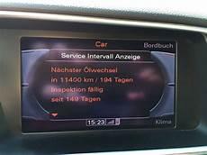 inspektion auto intervall image service intervall anzeige inspektion f 228 llig zur 252 cksetzen audi q5 8r 208080630