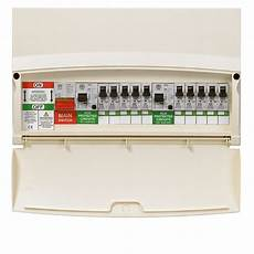 mk sentry 10 way split load consumer unit jc electrics