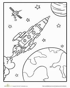 rocketship worksheet education
