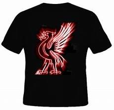 Kaos Liverpool Hitam Sablon Gold kaos lambang burung liverpool kaos premium
