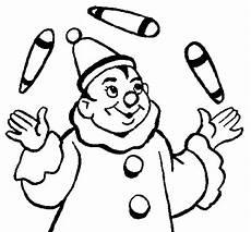 juggler coloring page coloringcrew