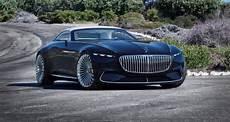 Mercedes Maybach Vision 6 Cabriolet Hors Bord De Route