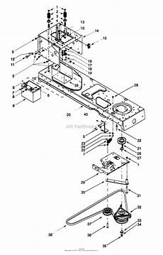 Cub Cadet Pto Clutch Wiring Diagram by Mtd 13ax604g099 247 27402 1999 Parts Diagram For