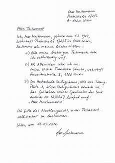 Testament Erbschaft Phil Theol Hochschule Benedikt