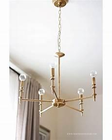 Diy Brass Chandelier 25 diy chandelier ideas make it and it
