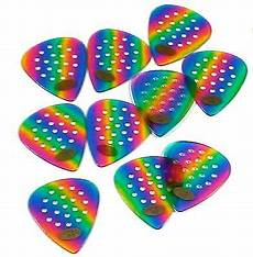 guitar picks with grips pickboy guitar picks pro pos a grip 1 00mm med heavy 10 pack celluloid rainbow 4534203163409 ebay