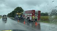 highway 41 accident yesterday one hospitalized after three separate crashes occur on highway 41 in evansville