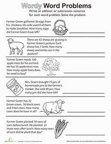 1st grade math worksheet subtraction word problems wordy word problems add or subtract worksheet