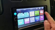 cheap 50 7010b din touch screen radio install in