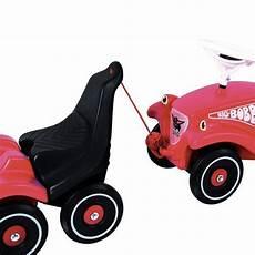 bobby car mit anhänger big bobby car classic zusatzsitz combi trailer mit