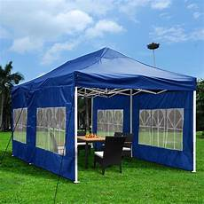 folding gazebo yescomusa 10 x 20 pop up canopy folding gazebo wedding