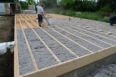 Plancher Bois Pour Terrasse Deck Framing Pourquoi Pas Une Dalle En Bois Autoportante