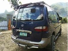 Hyundai Starex Club 4x4 2000 Mt Blue For Sale 297391