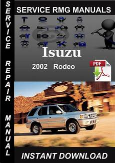 car repair manuals online free 2002 isuzu rodeo sport spare parts catalogs 2002 isuzu rodeo service repair manual download download manuals