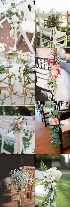 wedding ceremony chair decorations diy 28 awesome wedding chair decoration ideas for ceremony and